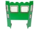 Part No: 2924bpb001  Name: Train Front with 1 x 4 x 2 Cutout and Electric Lightning Bolt and '9V' Pattern on Both Sides (Stickers) - Set 7898
