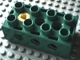 Part No: 31184c01  Name: Duplo, Toolo Brick 2 x 4 with Holes on Sides and Top and 1 Screw in Top