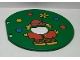Part No: 31193pb02  Name: Duplo Ball Tube Exit Door with Juggling Clown Pattern