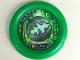 Part No: 32171pb037  Name: Throwbot Disk, Amazon / Jungle, 2 pips, leaf logo Pattern