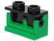 Part No: 3937c02  Name: Hinge Brick 1 x 2 Base with Black Hinge Brick 1 x 2 Top Plate (3937 / 3938)