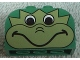 Part No: 4744px13  Name: Brick, Modified 2 x 4 x 2 Double Curved Top with Frog Face Pattern