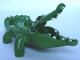 Part No: 53915c01  Name: Duplo Alligator / Crocodile Second Version with Opening Jaw and Narrow Snout