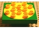 Part No: 54308c01  Name: Duplo Turntable 4 x 4 Base with Yellow Top Plate