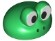 Part No: 75357pb01  Name: Large Figure Headgear Cap Mario with White Frog Eyes Pattern