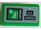Part No: 85984pb227  Name: Slope 30 1 x 2 x 2/3 with ATM Terminal Pattern (Sticker) - Set 76082