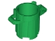 Part No: 92926  Name: Container Trash Can with 4 Cover Holders