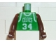 Part No: 973bpb146c01  Name: Torso NBA Boston Celtics #34 Pattern / Brown NBA Arms