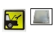 Part No: 2384pb02  Name: Electric, Light 2 x 2 Clip-On Plate with Car Repair Pattern