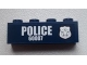 Part No: 3010pb170R  Name: Brick 1 x 4 with Police Silver Star Badge and White 'POLICE 60007' Pattern Model Right Side (Sticker) - Set 60007