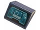 Part No: 3043pb01  Name: Slope 45 2 x 2 Double with Dark Turquoise Control Display Panel Pattern (Sticker) - Set 76144
