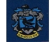 Part No: 3068bpb1259  Name: Tile 2 x 2 with Groove with 'RAVENCLAW' House Crest Pattern