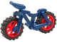 Part No: 36934c03  Name: Bicycle Heavy Mountain Bike with Red Wheels