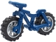 Part No: 36934c04  Name: Bicycle Heavy Mountain Bike with Flat Silver Wheels
