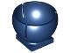 Part No: 44358  Name: Cylinder Hemisphere 3 x 3 Ball Turret Socket with 2 x 2 Base