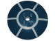 Part No: 44375bpb12  Name: Dish 6 x 6 Inverted (Radar) - Solid Studs with Spoke Radial Pattern (R2-D2 Dome Top)