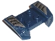 Part No: 44674pb06  Name: Vehicle, Mudguard 2 x 4 with Headlights Overhang with Scoops Pattern on Both Sides (Stickers) - Set 8194