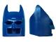 Part No: 55704  Name: Minifigure, Headgear Mask Batman Type 1 Cowl (Wide Ears)