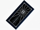 Part No: 87079pb0142  Name: Tile 2 x 4 with Drawing of Barad-dur and The Eye of Sauron Pattern (Sticker) - Set 10237