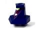 Part No: 87853c01pb01  Name: Large Figure Head Modified Ben 10 ChromaStone with Dark Purple Face Pattern