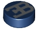 Part No: 98138pb087  Name: Tile, Round 1 x 1 with Flat Silver Bugatti Logo Pattern
