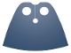 Part No: 99464  Name: Minifigure Cape Cloth, Very Short - Traditional Starched Fabric