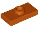 Part No: 15573  Name: Plate, Modified 1 x 2 with 1 Stud with Groove and Bottom Stud Holder (Jumper)
