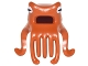 Part No: 25743pb01  Name: Minifigure, Headgear Mask Octopus Head with Wide Open Mouth and 7 Long Tentacles with White and Black Eyes Pattern