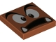 Part No: 3068bpb1372  Name: Tile 2 x 2 with Groove with Goomba Face Surprised Pattern