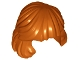 Part No: 36037  Name: Minifigure, Hair Female Mid-Length Combed Behind Ear