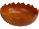 Part No: 61236a  Name: Duplo Egg Base with Jagged Edge and Smooth Center (No Studs)