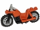 Part No: 65521c02  Name: Motorcycle Chopper with Black Frame, Light Bluish Gray Wheels and Handlebars