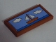 Part No: 87079pb0276  Name: Tile 2 x 4 with Sailing Ship, Sea and 2 Clouds Painting Pattern (Sticker) - Set 71006