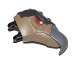 Part No: 15374c01pb01  Name: Large Figure Head Modified Chima Vulture with Red Eyes Pattern