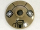 Part No: 4740pb013  Name: Dish 2 x 2 Inverted (Radar) with Machinery Pattern (Dalek Head)