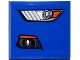 Part No: 15068pb056L  Name: Slope, Curved 2 x 2 No Studs with Ford Mustang Headlight / Fog Light Pattern Model Left Side (Sticker) - Set 75871