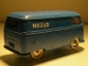Part No: 258pb05  Name: HO Scale, VW Van with Blue Base and NEZLO Pattern