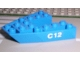 Part No: 2626pb01  Name: Boat, Bow Brick 6 x 6 x 1 with 'C12' Pattern on Both Sides (Stickers) - Set 6353