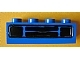 Part No: 3010pb036e  Name: Brick 1 x 4 with Car Grille Black Pattern (Embossed Print)