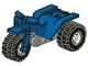 Part No: 30187c01  Name: Tricycle with Dark Gray Chassis & White Wheels