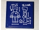 Part No: 3068bpb1026  Name: Tile 2 x 2 with Groove with Minifigure Blueprint and 'ZANE' Pattern (Sticker) - Set 70594