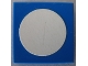Part No: 3068pb28  Name: Tile 2 x 2 with White Circle Small Pattern (Sticker) - Set 269