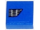 Part No: 3070bpb098L  Name: Tile 1 x 1 with Groove with Ford Mustang Lower Grille Honeycomb Pattern Model Left Side (Sticker) - Set 75871