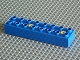 Part No: 31036c01  Name: Duplo, Toolo Brick 2 x 8 with 2 Screws (positions 1 and 5)