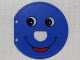 Part No: 31193pb01  Name: Duplo Ball Tube Exit Door with Smiling Face Pattern