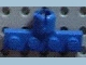 Part No: 3183b  Name: Plate, Modified 1 x 4 with Towball Socket, Long, 4 Slots (8mm Socket Length)