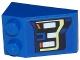 Part No: 3298pb067L  Name: Slope 33 3 x 2 with Ford F150 Raptor Headlight Pattern Model Left Side (Sticker) - Set 75875