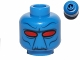 Part No: 3626bpb0985  Name: Minifigure, Head Alien with Narrow Set Red Eyes and Black Facial Features Pattern (Cad Bane) - Blocked Open Stud