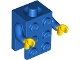 Part No: 37191c04  Name: Torso, 2 x 3 Brick Costume / Blue Arms / Yellow Hands