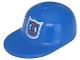 Part No: 4485pb03  Name: Minifigure, Headgear Cap - Long Flat Bill with Rescue Coast Guard Logo Pattern